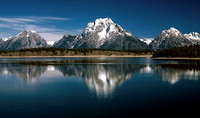 Mt. Moran.  Grand Teton National Park, 1978