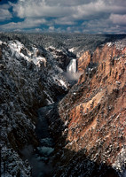 Grand Canyon of the Yellowstone. 1978