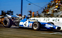 Jean-Pierre Beltoise driving a Matra-Ford