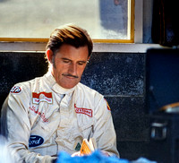 Graham Hill before the Race