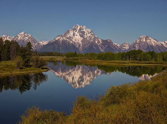 Oxbow Bend, Grand Teton National Park 2013